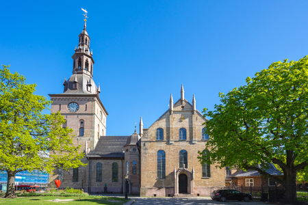 Oslo Cathedral or Oslo Domkirke in Oslo city, Norway. Banque d'images