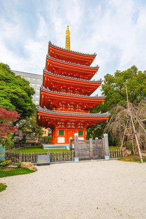 Tocho-ji Temple in Hakata, Fukuoka, Japan.