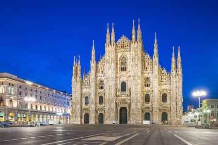 Cathédrale de Milan ou Duomo de Milan à Milan, Italie.