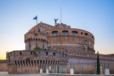 Castel Sant'Angelo à Rome, en Italie.
