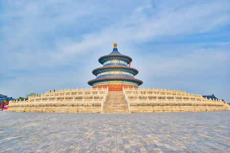 Beijing Temple of Heaven the icon of Beijing, China.