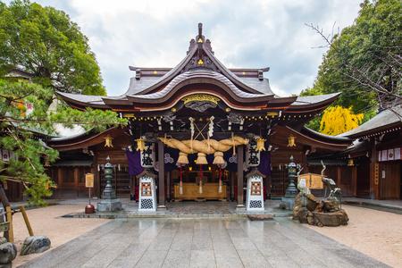 Kushida Shrine is located in Hakata, Fukuoka, Japan. Éditoriale