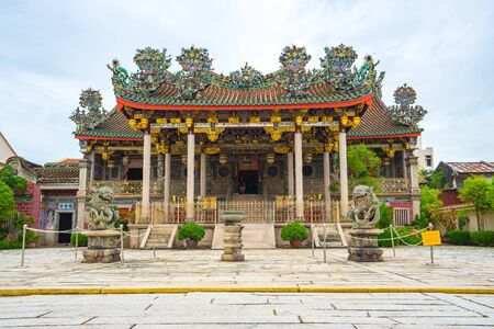 Khoo Kongsi à Penang, en Malaisie.