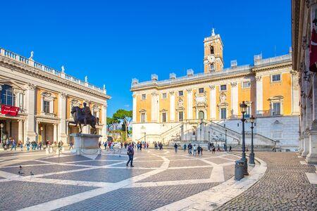 Campidoglio or Capitoline Hill in Rome, Italy.