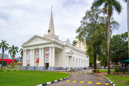 Penang, Malaysia - May 21, 2016: St. Georges Church at George Town, Penang, Malaysia Éditoriale