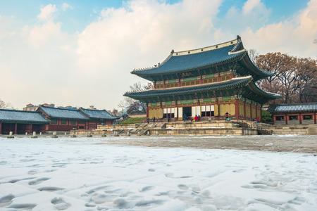 Changdeok gung palace landmark of Seoul city, South Korea.