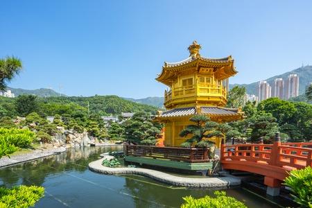 Nan lian garden landmark in Hong Kong city, Hong Kong. Banque d'images