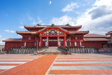 Shuri Castle in Naha, Okinawa, Japan. Banque d'images