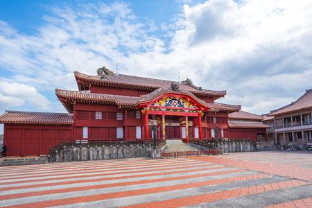 Shuri Castle in Okinawa, Naha, Japan.