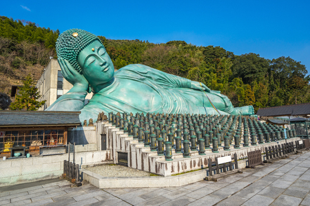 The Nehanzo of Nanzoin Temple in Sasaguri, Fukuoka Prefecture, Japan.