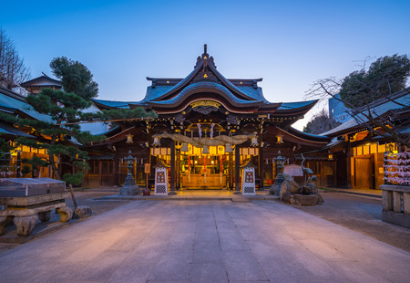 Kushida Shrine in Hakata, Fukuoka, Japan.