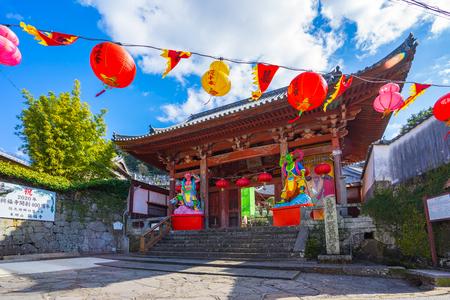 Nagasaki, Japan - February 7, 2018: Kofukuji Temple in Nagasaki, Japan. Éditoriale
