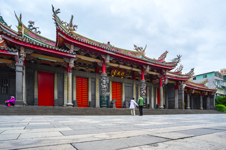 Xingtian Temple in Taipei city, Taiwan.