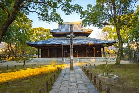Shofukuji Temple in Hakata, Fukuoka, Japan.