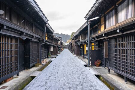 Takayama the ancient town in Gifu Prefecture, Japan.