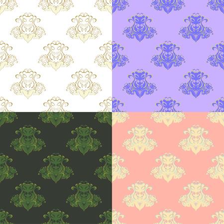 solemn: solemn purple pink pattern seamless vector illustration