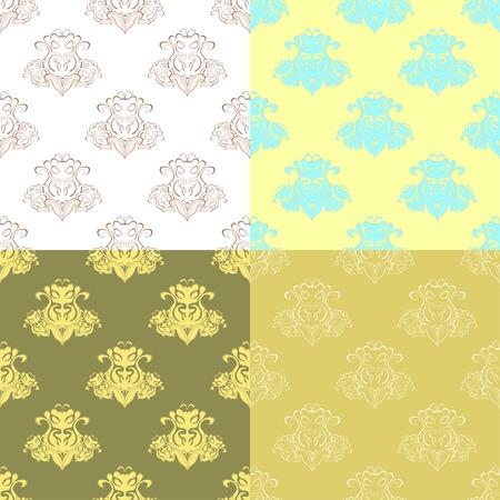 solemn: solemn black bright seamless pattern vector illustration