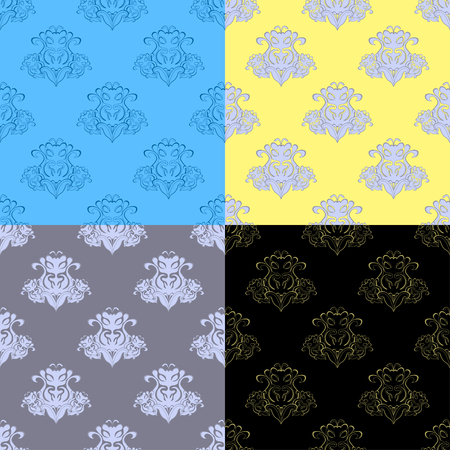 solemn: solemn black gray pattern seamless vector illustration