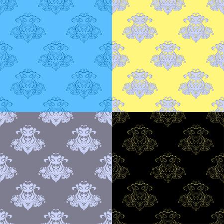 solemn: solemn black gray pattern seamless vector illustration