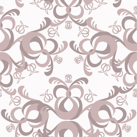 solemn: The solemn seamless pattern monochromatic color vector illustration
