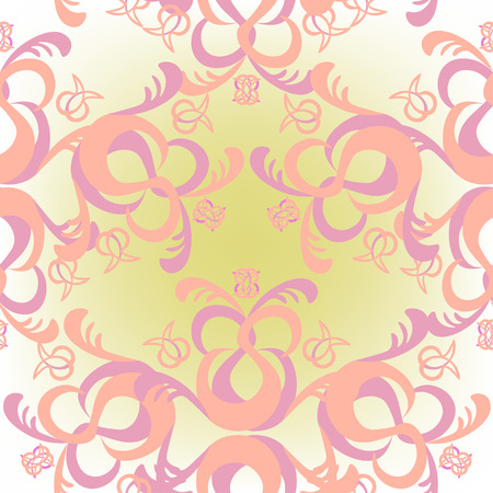 solemn: The solemn seamless pattern of pink color vector illustration