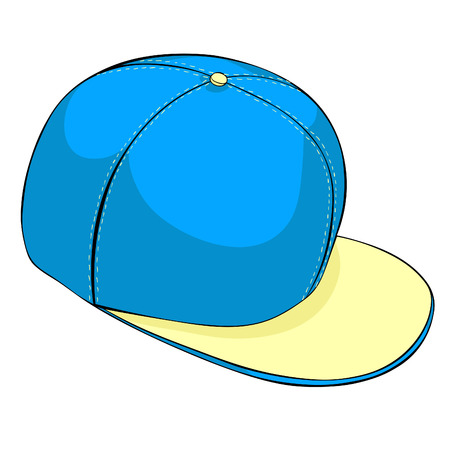 the is a cap headdress summer vector illustration Ilustração