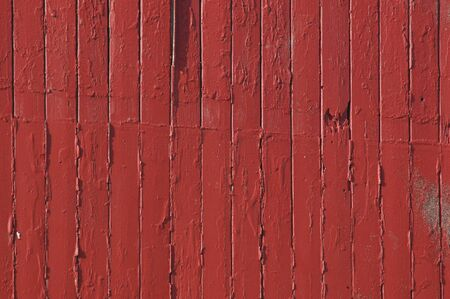 wooden insert: Picture of a red painted plank Stock Photo