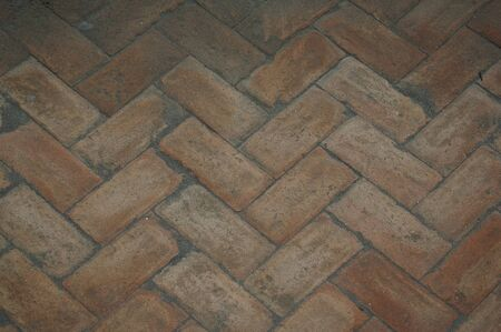 designates: Terracotta floor as background