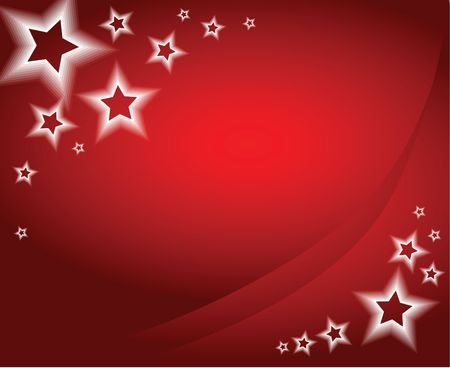 slideshow: Red christmas background  card