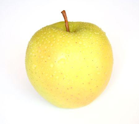 Apple on white background photo