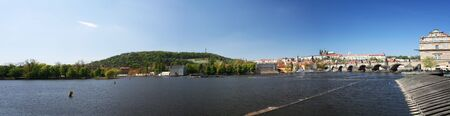citytrip: Prague castle panorama (Czech republic, Europe)