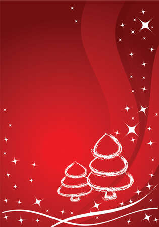 Vector christmas background  card photo