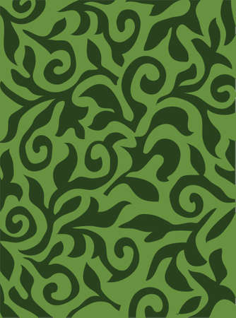 Floral green vector texture photo