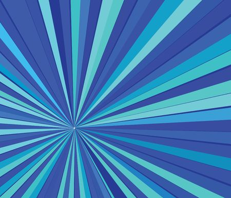 Blue striped background - modern vector background with cold colors photo
