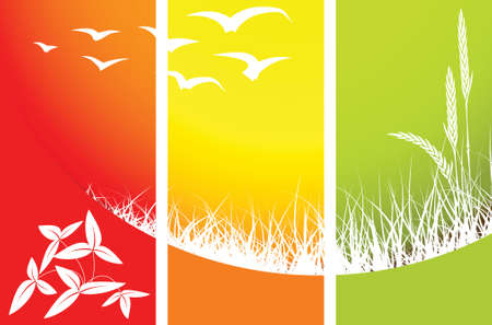 Abstract nature background with place for your text photo