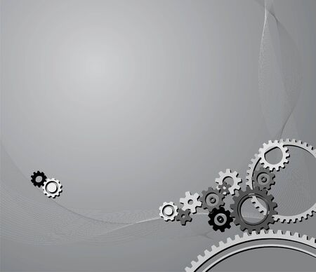 background made from various cogwheels Stock Photo - 3076041