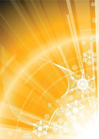 snoflake: Christmas background with white snowflakes Stock Photo