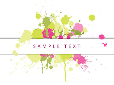 Abstract spots background with place for your text photo