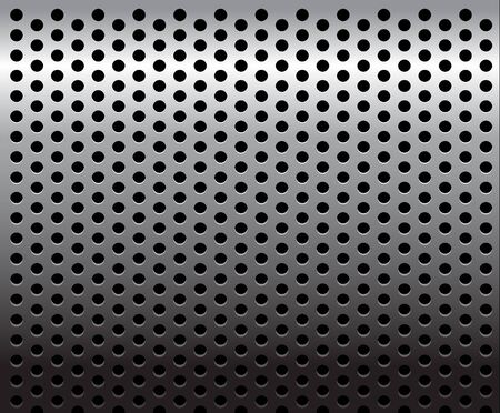 Metal texture / pattern with holes Stock Photo - 4858049