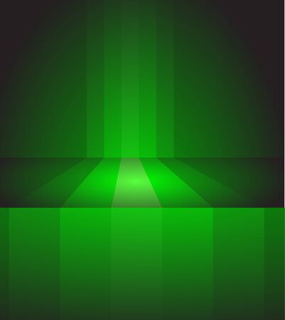 Abstract dark background made from green stripes photo