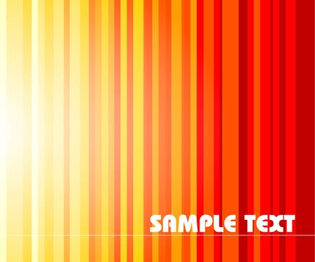 Abstract stripped background - yellow to red colors photo