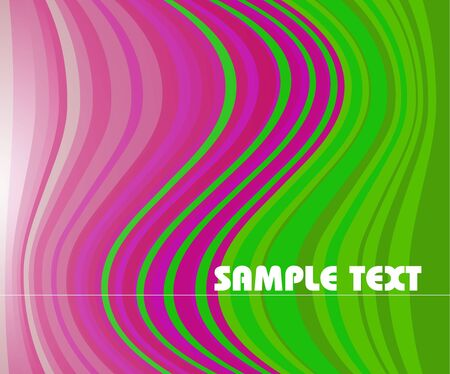 Abstract stripped background - green and pink colors Stock Photo - 5286351
