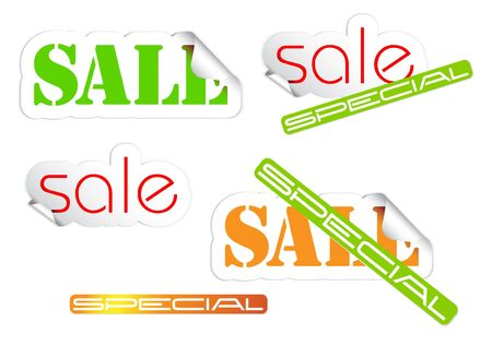 Set of fresh sale labels - see my portfolio for more labels photo