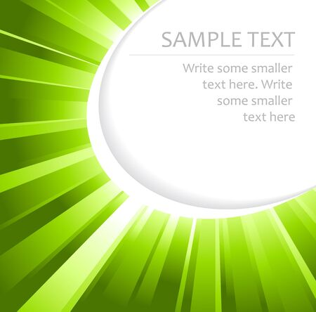 whirling: Abstract green background with place for your text Stock Photo