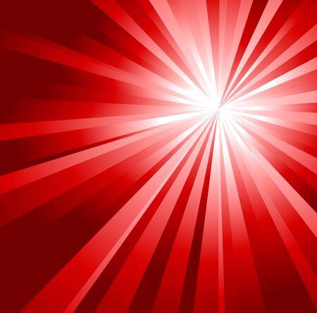 그라디언트 줄무늬에서 만든 추상 빨간색 배경