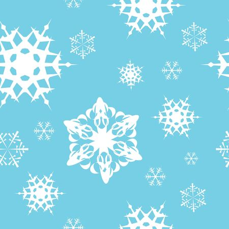 Winter - blue christmas seamless pattern  texture photo