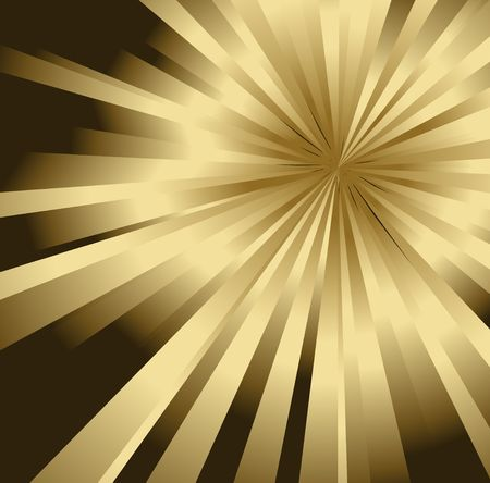 Abstract golden background made from gradient stripes  (vector) photo