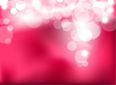 defocused: Abstract glowing light on a pink background