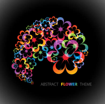 Abstract floral background with place for your text Stock Photo - 7151296
