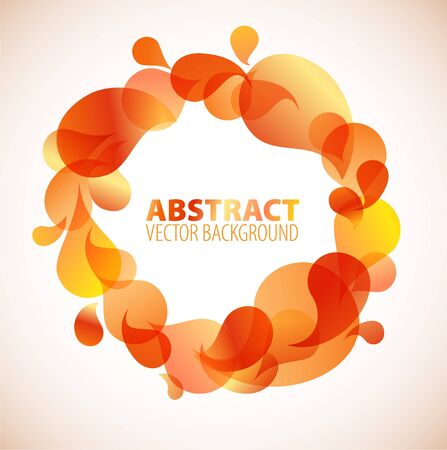 Abstract background / frame with place for your text Stock Vector - 7278755